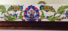 emeklilik hobileri: çinilerim-20 Turkish Tiles, Mirror Tiles, Kitchen Decor, Planter Pots, Porcelain, Painting, Patterns, Home Decor, Dining Room