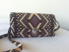 Ethnic Fabric Clutch Wallet with Removable by NormasBagBoutique, $54.00