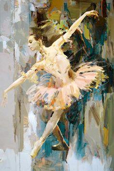 Catf Painting - Ballerina 31 by Mahnoor Shah