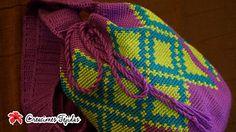 Mochila Wayúu de Rombos pattern by Creaciones Tejidas