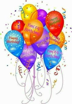 Happy Birthday Balloons happy birthday birthday wishes birthday images birthday balloons quotes about birthday Happy Birthday Wishes Cards, Happy Birthday Celebration, Birthday Blessings, Happy Birthday Pictures, Birthday Wishes Quotes, Happy Birthday Sister, Special Birthday Wishes, Happy Birthday Sparkle, Birthday Images For Facebook