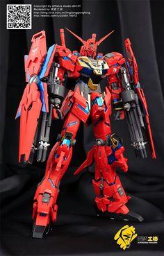 GUNDAM GUY: 1/100 Unicorn Gundam Neo Zeon Type - Custom Build