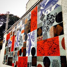 Street Art at Vila Madalena - São Paulo - #poppingupdoc  #popsurrealism  #pop  #popart #streetart #Graffiti #artederua #graffiti #art #artwork #contemporaryart #modernart #realcreativeart #watercolor #urbanart #cores #colores #colors #sprayart #intervention #urbanintervention #graffitiwall #kunst #photooftheday #street #graffitiart Graffiti Art, Pop Art, Watercolor, Quilts, Blanket, Abstract, Artwork, Street Art, Colors