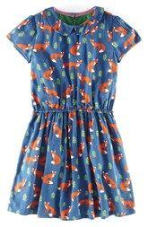 Johnnie B by Boden Print Cotton Tea Dress (Big Girls)