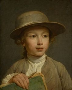 Lepicie Nicolas Bernard-Portrait d'un jeune garçon