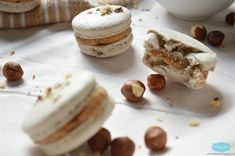 Hazelnut French Macarons recipe