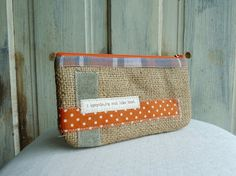 upcycle clutch 5thseason, $20.00