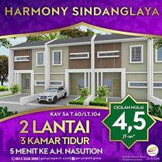 Hunian Strategis di Sindanglaya dengan View Kota Bandung Booking Harmony Sindanglaya SEKARANG! ------------------------------------ Tersedia Tipe: 60/104! Cicilan Mulai 4,5 Juta! (Free Biaya KPR, BPHTB, AJB, SHM) ------------------------------------ + 5 menit dari Jalan A.H Nasution + Dekat rumah sakit Hermina Arcamanik + Dekat Borma Arcamanik dan Griya Arcamanik ------------------------------------ Info hubungi segera 0812 3238 5000 (Telp/WA) Pricelist cek di www.ganproperti.com  #jualrumah