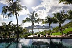 Awesome pool view!