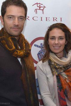 """Luca Capuano e Carlotta Lo Greco  Progetto """"Cinema Gift Room"""" in occasione dell' VIII Festival Internazionale del Film di Roma."""