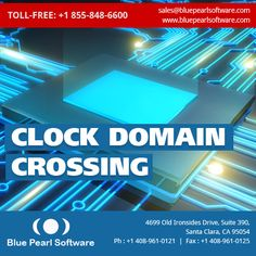 The Blue Pearl Software Suite offers the capability to analyze designs for #Clock #Domain #Crossing (CDC) issues: