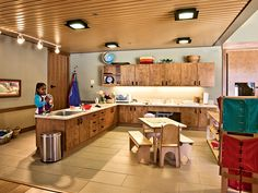 This Montessori practical life space is amazing. make the Practical Life area a kids kitchen!