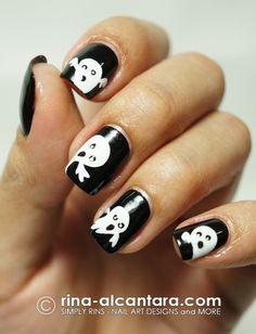 Simply Rins halloween #nail #nails #nailart