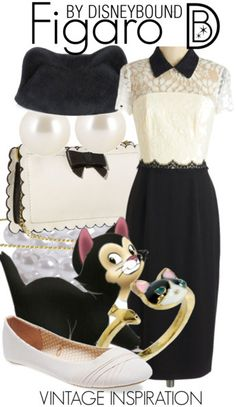 Meow! Pinocchio's friend Figaro looks darling in this outfit  | Disney Fashion | Disney Fashion Outfits | Disney Outfits | Disney Outfits Ideas | Disneybound Outfits |