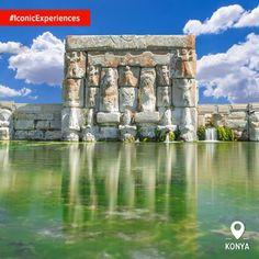 """""""Джерело Платона"""" - пам'ятник-басейн, який вважають священним місцем хетської культури в Анатолії.  #IconicExperiences"""