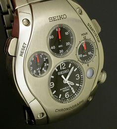 SEIKO Kinetic Chronograph