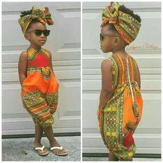 US 2019 Infant Baby Girls Kids African Jumpsuit Clothes Toddler Playsuit Outfit - fashion - Kids Outfit African Inspired Fashion, African Print Fashion, Africa Fashion, African Fashion Dresses, Ankara Fashion, African Prints, African Outfits, Asian Fashion, African Dresses For Kids