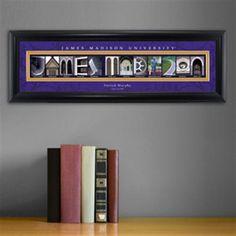 College Campus Art - James Madison University – GiftsEngraved