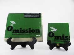 Omission IPA Beer Coaster Check out this product and may others at http://mancaveupcycle.com/shop/coasters/omission-ipa-beer-coaster/