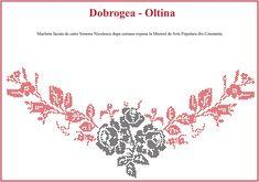 Modele de cusaturi traditionale din Dobrogea | Simona Moon Folk Embroidery, Traditional Dresses, Elsa, Cross Stitch, Tapestry, Romania, Blouse, Costume, Hippy