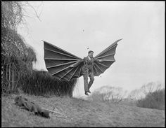 #Clement Ader : Demonstration with Mme. Alberti's flying contraption 1931 [1500X1168] #history #retro #vintage #dh #HistoryPorn http://ift.tt/2fL3J1p