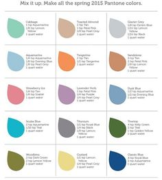 RIT Color Chart - JoAnn | Jo-Ann