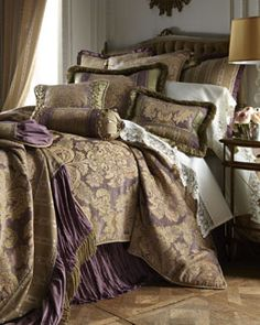"+3424 Dian Austin Couture Home ""Lyndhurst Estate"" Bed Linens"