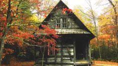Ray Bradbury - Smrt a dívka (Fantasy) (Povídka) (Mluvené slovo CZ) Abandoned Buildings, Abandoned Places, Cabins And Cottages, Log Cabins, Rustic Cabins, Rustic Houses, Small Cabins, Barn Houses, Small Houses