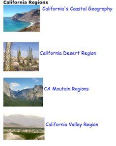 California Regions California Regions, California Missions, California History, California Art, Teacher Interview Questions, Teacher Interviews, 3rd Grade Social Studies, Teaching Social Studies, Preschool Art Projects