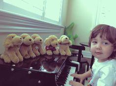 milo serenading his space buddies ~dm