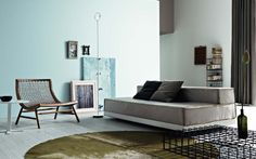 I'm decidedly not a minimalist - but the aesthetic and function of this room is pure design - and so desirable!