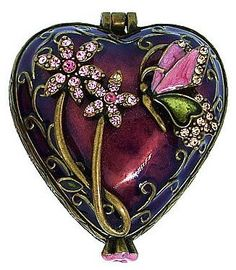 Love from the center of who you are; don't fake it. Run for dear life from evil; hold on for dear life to good. Be good friends who love deeply; practice playing second fiddle. Heart Jewelry, Red Jewelry, I Love Heart, Antique Boxes, Pretty Box, Jewellery Boxes, Jewel Box, Little Boxes, Heart Art