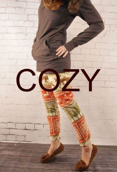 DIY Clothing & Tutorials: Grosgrain: Cozy Fleece Leggings Free Pattern: Into the Woods