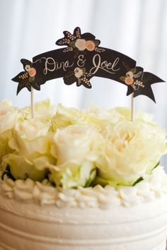 cake topper by the first snow