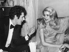 Marcello Mastroianni et Catherine Deneuve en 1970 à Cannes