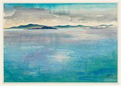 Whitney Museum of American Art: Chiura Obata: Before the Rain Mono Lake