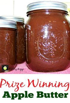 The post Prize Winning Slow Cooker Apple Butter appeared first on Lovefoodies. Source link The post Prize Winning Slow Cooker Apple Butter appeared first on Simply Recipes by Jessica Illya. Jelly Recipes, Jam Recipes, Canning Recipes, Recipies, Slow Cooker Apples, Slow Cooker Recipes, Crock Pot Slow Cooker, Crockpot Meals, Butter Crock