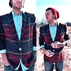 Men's Navajo Print Blazer on Etsy, $30.00