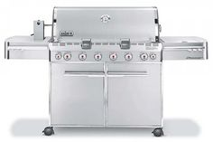 The Popular Mechanics Weber Summit Grill Sweepstakes Official Rules Weber Gas Bbq, Weber Grills, Perfect Grill, Grill Grates, Stainless Steel Doors, Popular Mechanics, No Cook Meals, Grilling, Kitchen Appliances