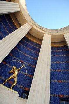 Fair Park Art Deco Architecture, Dallas, Texas. @Deidré Wallace