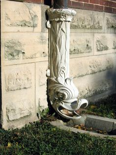 Heraldic Dolphin Downspout for gutters