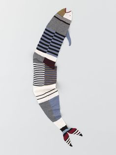 Knitted Arts scarf.