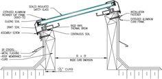 Artistic Skylight - Model G-FF Glass Curb Mount Skylight Artistic ...