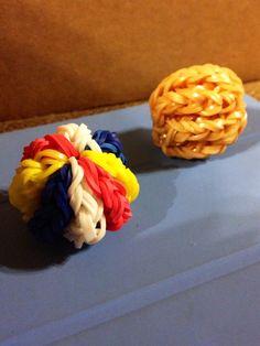 Rainbow loom balls