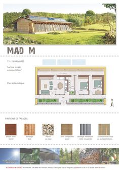 MAD-M, earthship 2 chambres                                                                                                                                                                                 More