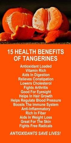 15 Health Benefits Of Tangerines. The minute superfood packs a powerful antioxidant punch. Amplify the effects by infusing with Kangen Water; the hydrogen rich, antioxidant loaded, ionized water that neutralizes free radicals that cause oxidative stress which can lead to variety of health issues. Change your water, change your life. LEARN MORE #Tangerines #Antioxidants #Health #Benefits