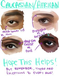 Amazing Learn To Draw Eyes Ideas. Astounding Learn To Draw Eyes Ideas. Digital Painting Tutorials, Digital Art Tutorial, Art Tutorials, Drawing Tutorials, Makeup Tutorials, Doodle Inspiration, Anatomy Reference, Art Reference Poses, Drawing Techniques