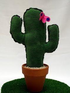 DIY cactus tela
