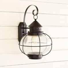 HOME DECOR – LIGHTING – SCONCE – Charleston 1-Light Outdoor Lantern, traditional, outdoor lighting, Ballard Designs