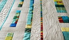 Summer Days Modern Wall Quilt by QuiltNutz on Etsy